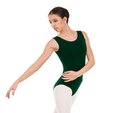 Eurotard Cotton Tank Leotard 1002