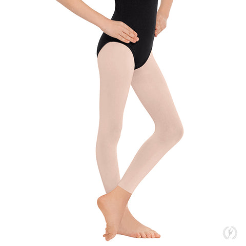 Childrens EuroSkins Non-Run Footless Tights 212C