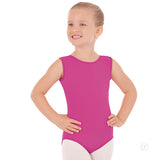 Eurotard Girls Tactel Microfiber Tank Leotard 4489