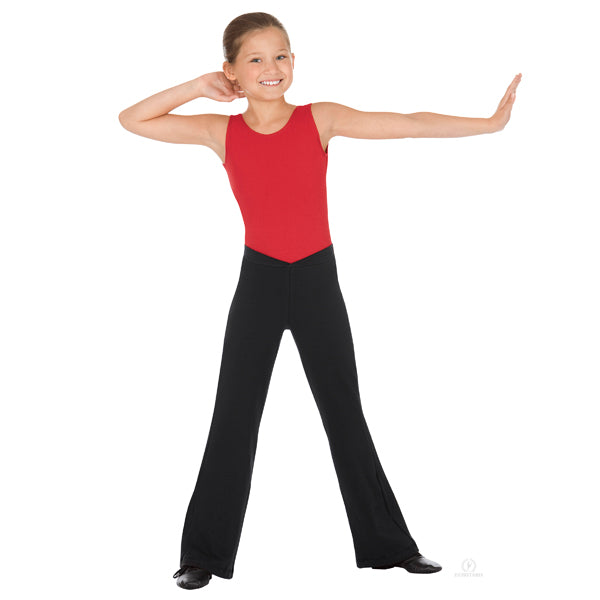 Eurotard Girls Low Rise V-Front Jazz Pants
