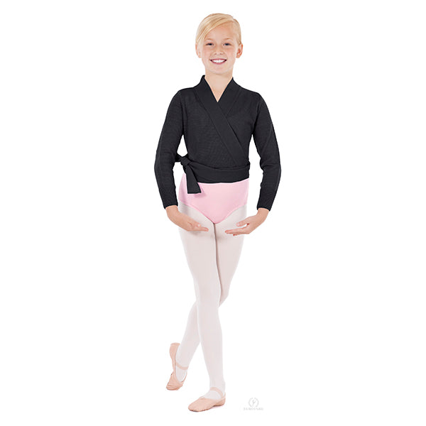 Eurotard Children's Classic Wrap Ballet Sweater 72523C