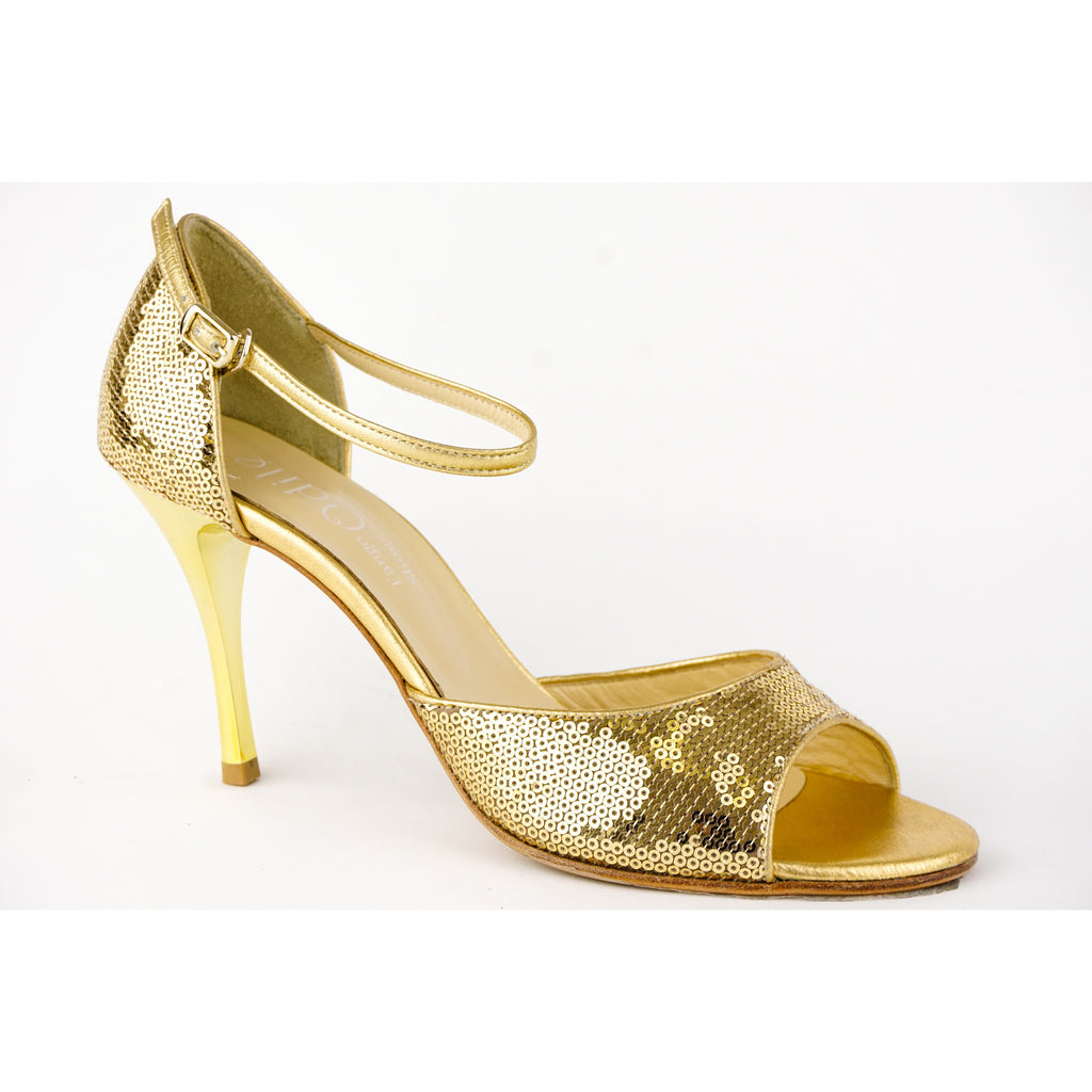 Gold Sequins by Odile