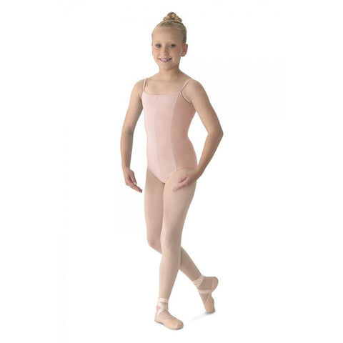 Mirella Children's Princess Seam V-Front Camisole Leotard M207C