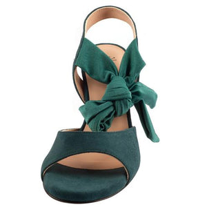 Sur - Paloma Green Suede 6cm (Regular to Wide)