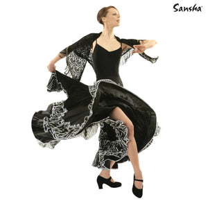 Sansha Paloma Flamenco Skirt