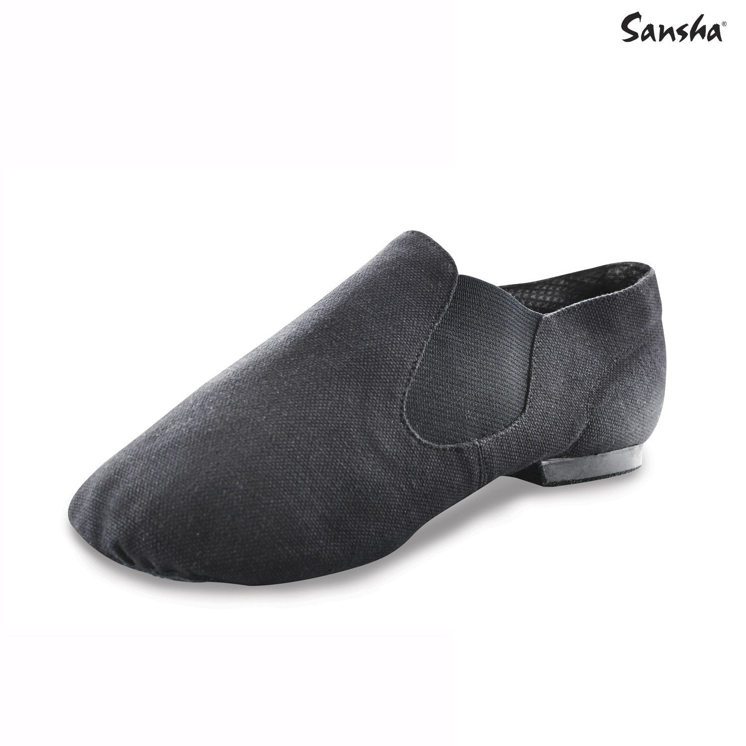 Sansha stretch canvas Slip-On Jazz Shoe