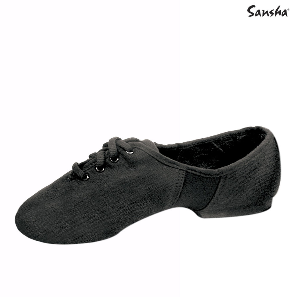 Sansha Canvas Tivoli Lace-Up Jazz Shoe