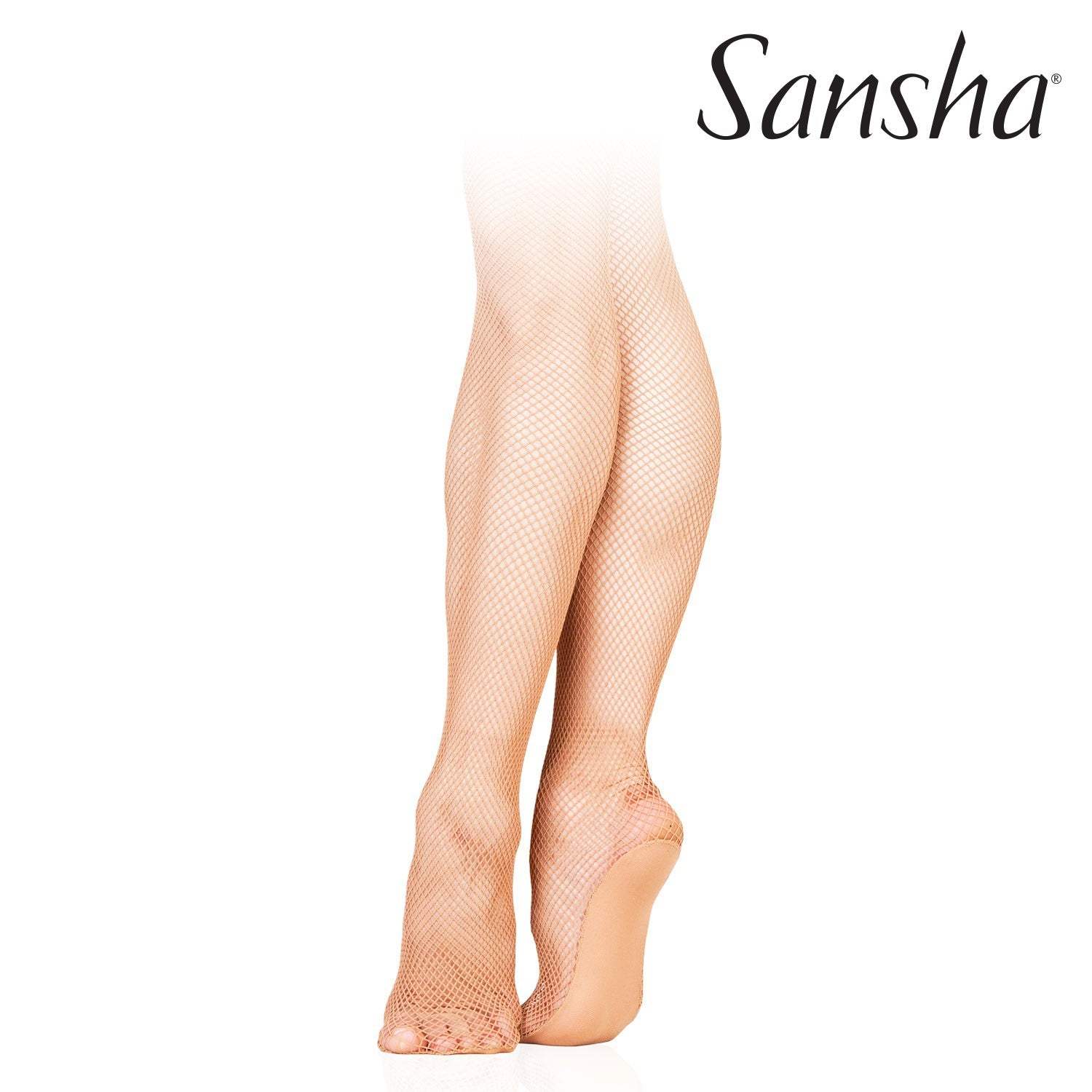 Sansha Seamless Fishnet Tights T98