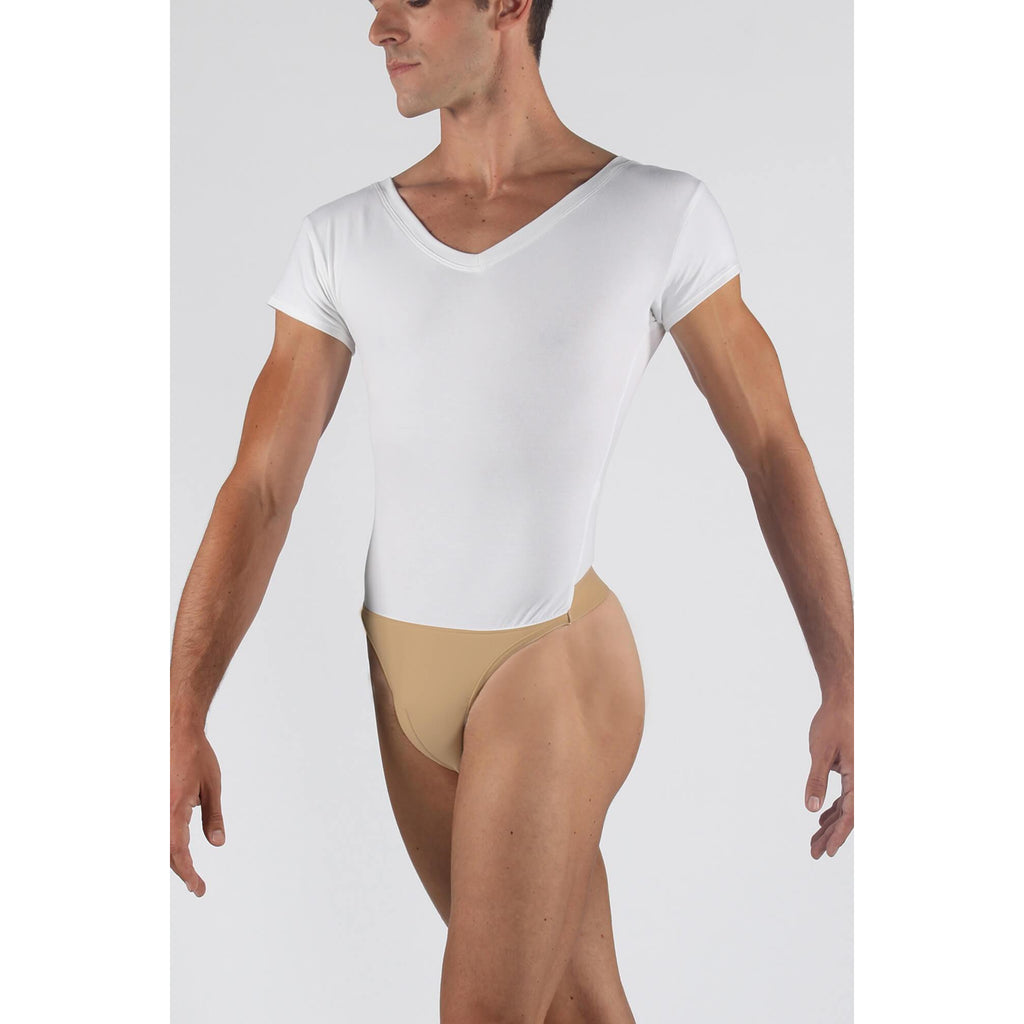 Wear Moi Men's Ivan V-Neck Short Sleeve Leotard