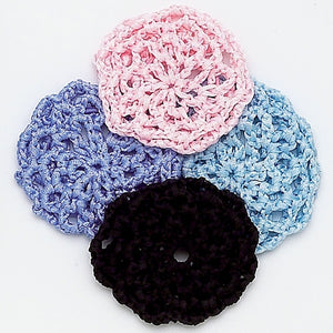 Dasha Small Ribbon Crocheted Buncover