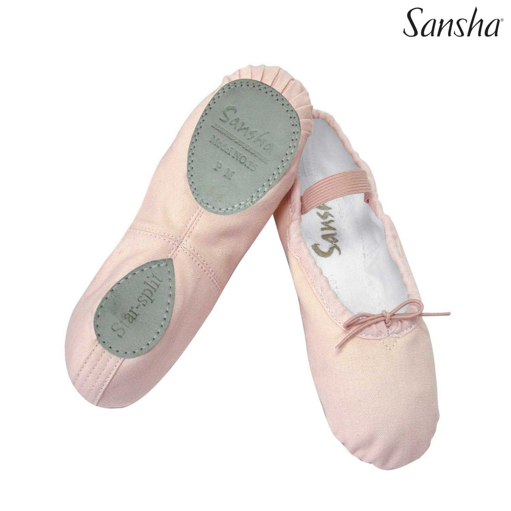 Kids Sansha Canvas Star-Split