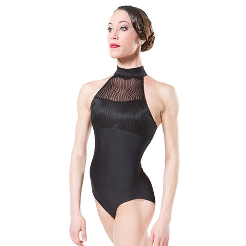Wear Moi Reve Mock Neck Leotard