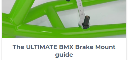 BMX Brake Mounts Advert Image