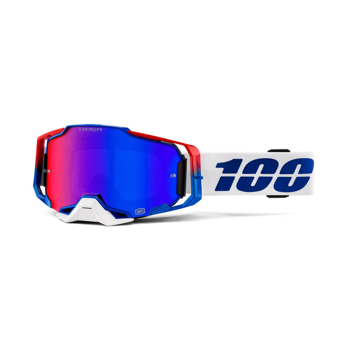 100% BMX Racing 100% Armega Goggles with HIPER Lens
