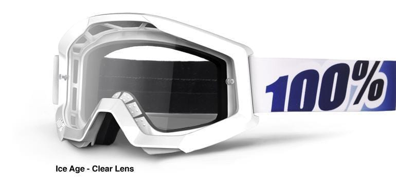 100 Percent Protection 100 Percent Strata Goggles