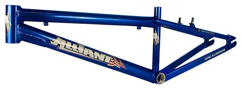 Alliant BMX Racing Alliant Expert XL Race Frame Candy Blue
