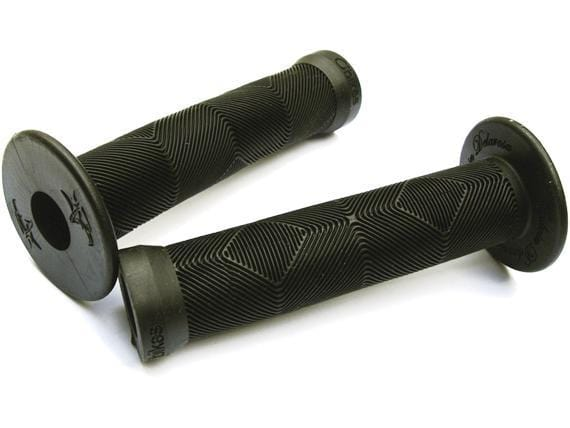 Animal Bikes BMX Parts Black Animal Edwin Grips with Flange