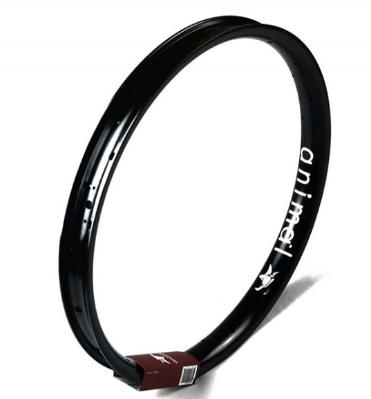 Animal Bikes BMX Parts Black Animal Steamroller Rim