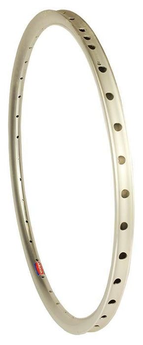 Araya BMX Racing Araya Aero ADX 7W Mini Race Rim for Sew-Up Tyres Silver