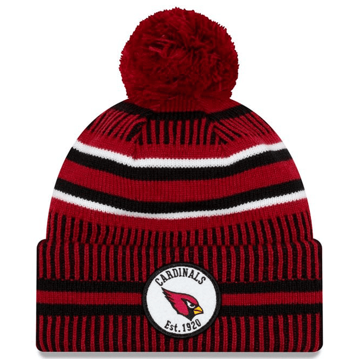 New Era Clothing & Shoes Arizona Cardinals Home New Era 2019-20 NFL Sideline Sport Knit Beanie Red