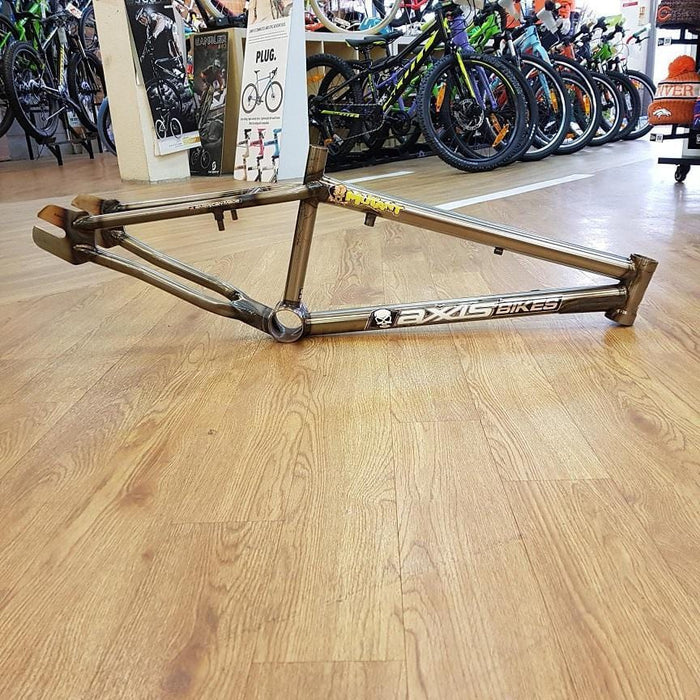 Axxis Mid School BMX Axxis Bikes Mutant Frame 20.5 Gloss Raw NOS