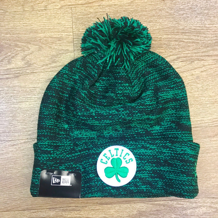 New Era Clothing & Shoes Boston Celtics NBA 2018-2019 Sideline Cuff Knit New Era Marl Beanie