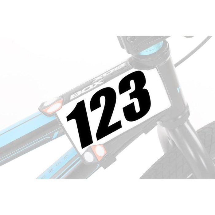 Box BMX Racing Box Components Phase 2 Side Plate Custom Numbers