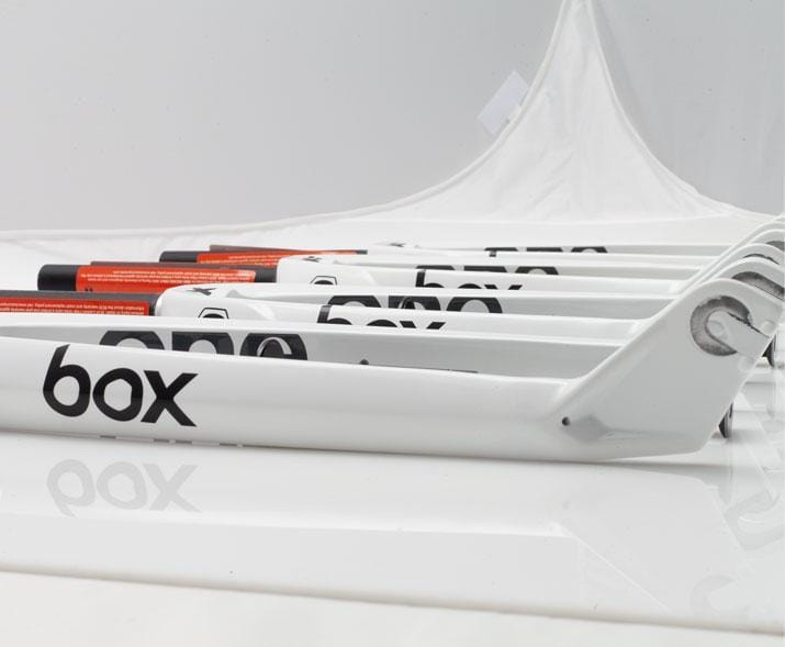 Box BMX Racing Box One XL CL Pro Carbon 20 Inch Forks 10mm White