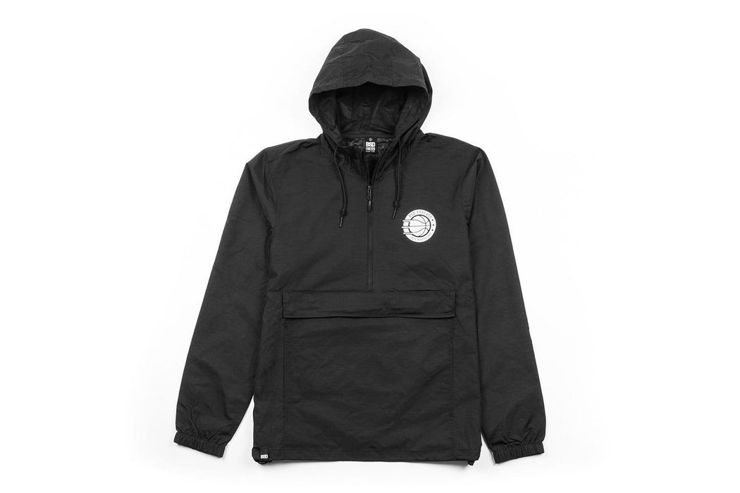BSD Clothing & Shoes BSD Athletic Anorak Jacket Black