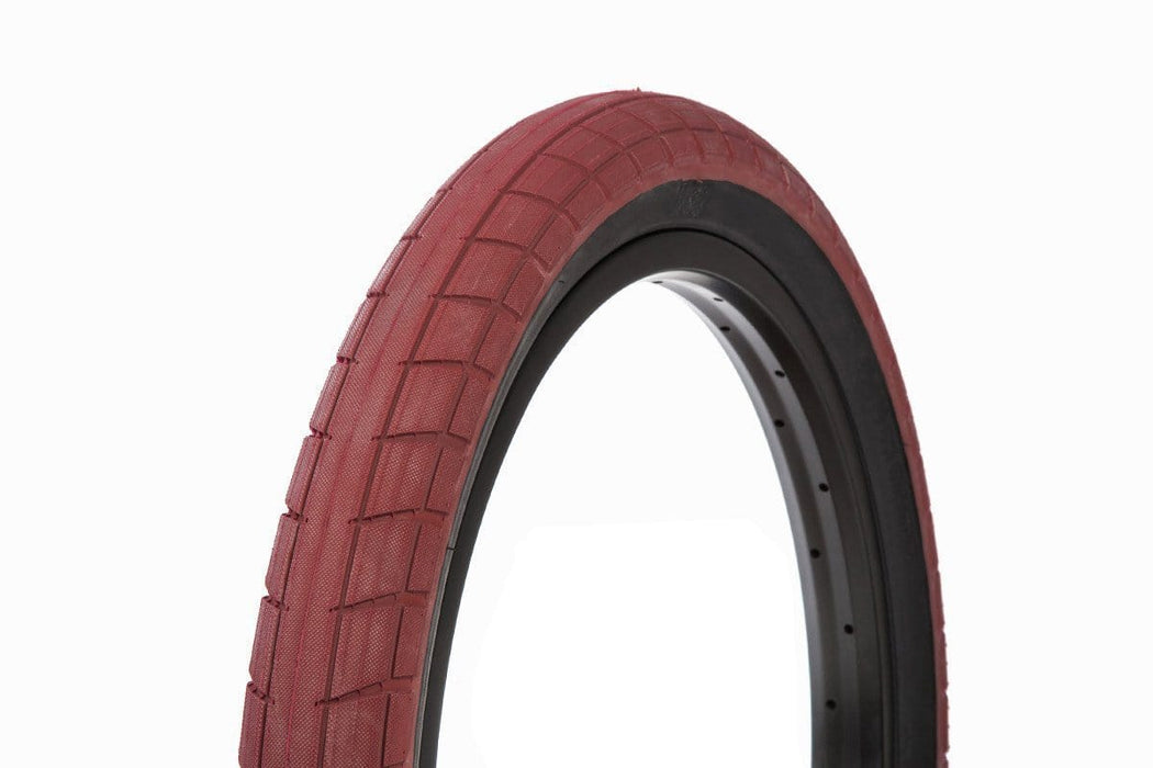 BSD BMX Parts 2.25 BSD Donnasqueak Tyre Dark Red