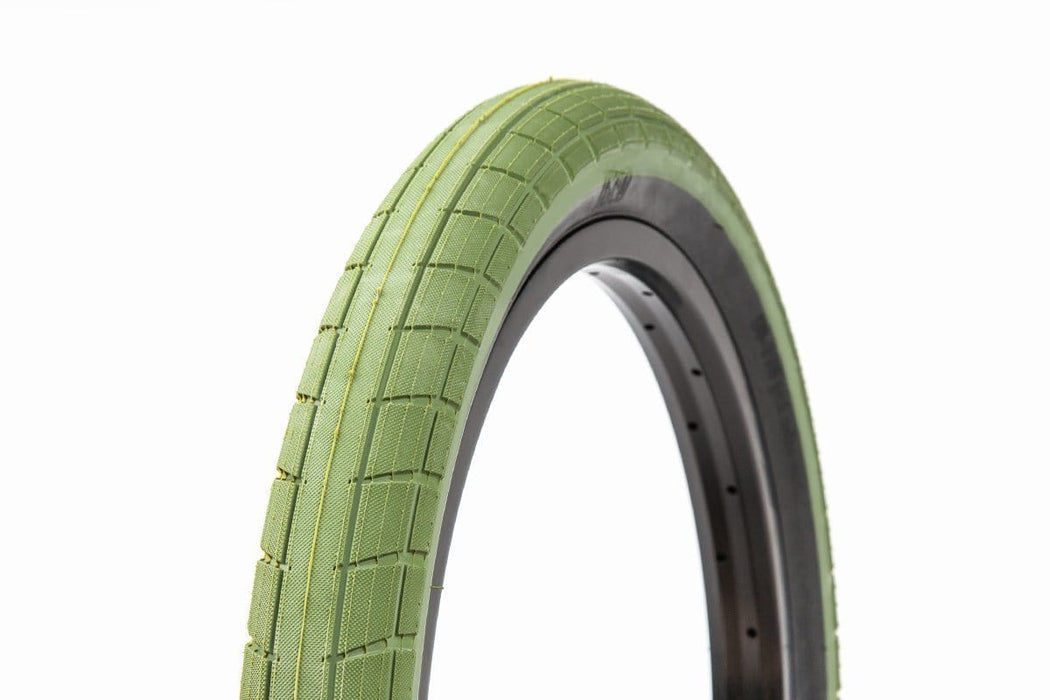 BSD BMX Parts BSD Donnasqueak Tyre Surplus Green
