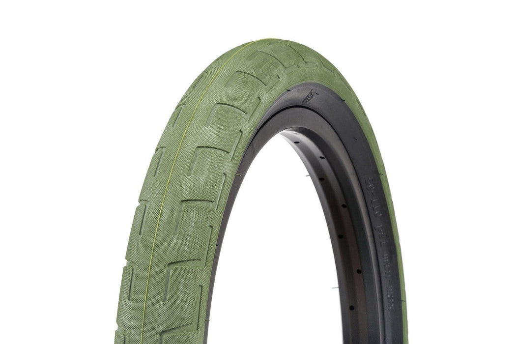 BSD BMX Parts BSD Donnastreet Tyre Surplus Green