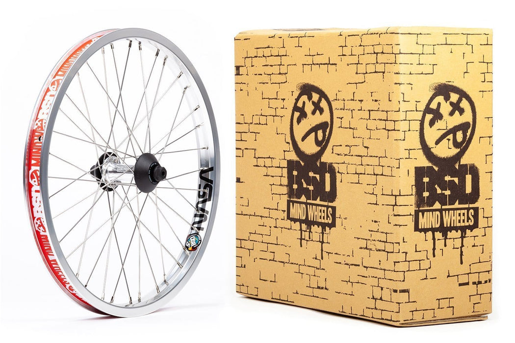 BSD BMX Parts Polished BSD Front Street Pro Mind Wheel Polished