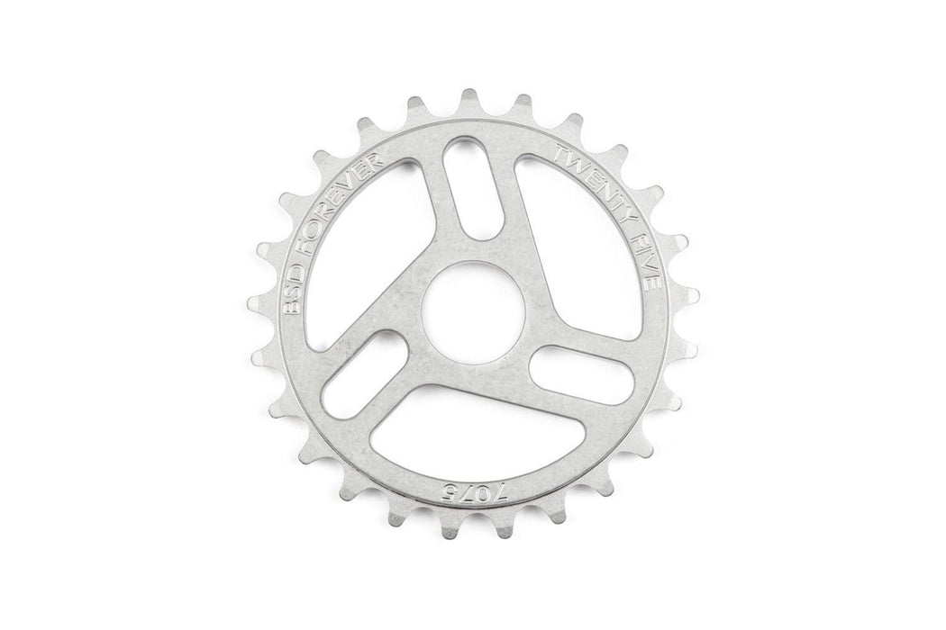 BSD BMX Parts 25t / Raw BSD Superlite Sprocket