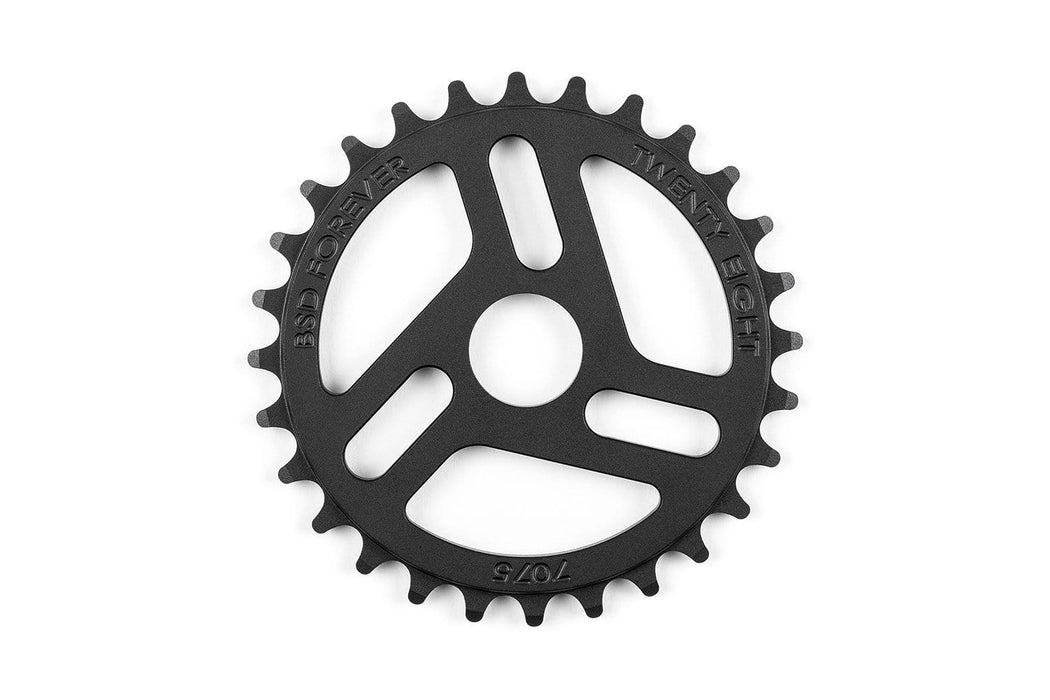BSD BMX Parts 28t / Black BSD Superlite Sprocket