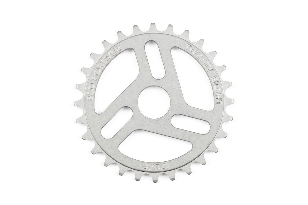 BSD BMX Parts 28t / Raw BSD Superlite Sprocket