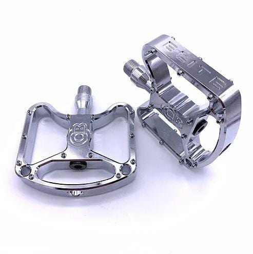 Bullseye BMX Parts Chrome Bullseye Elite Pro CNC Sealed Pedal