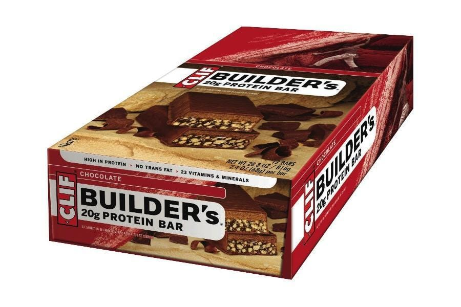 Clif BMX Racing Clif Builders Protein Bars Box of 12 Vegan