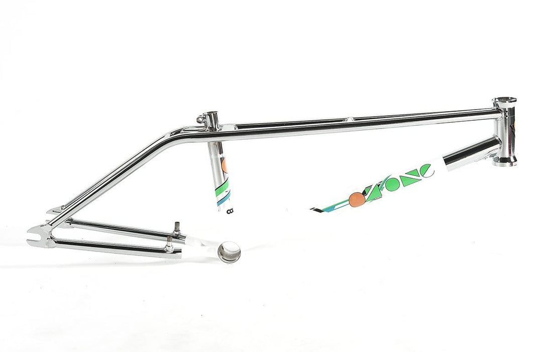 Colony BMX Parts Colony Oz One Frame Chrome/White