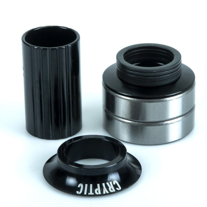Cryptic BMX Parts Cryptic Flow Bottom Bracket Black