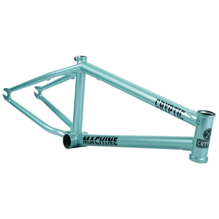 Cryptic BMX Parts Cryptic Machine Frame Green Haze