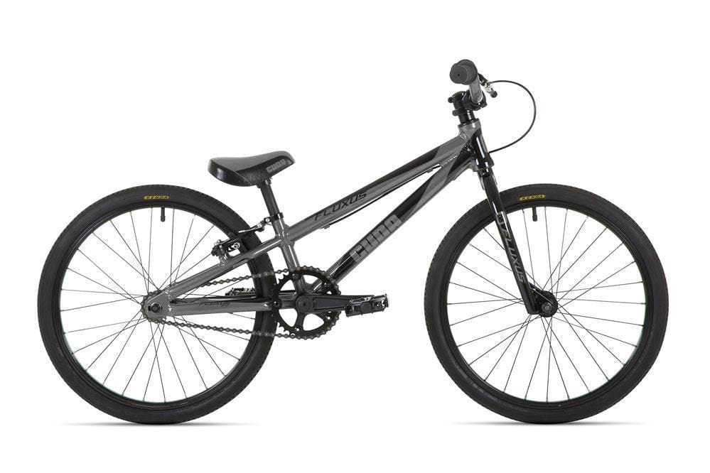 Cuda BMX Racing Cuda 2019 Fluxus Micro Mini 18 Inch Race Bike Grey/Black
