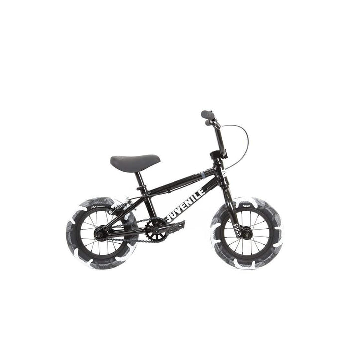 Cult BMX Bikes Cult 2020 Juvenile 12 Inch Bike Black with Grey Camo Tyres