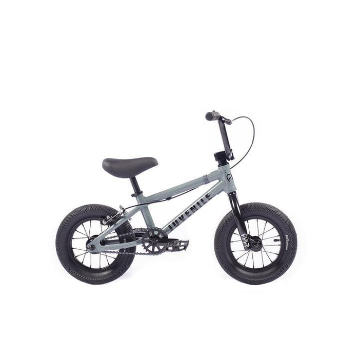 Cult BMX Bikes Cult 2021 Juvenile B 12 Inch Bike Grey With Black Parts