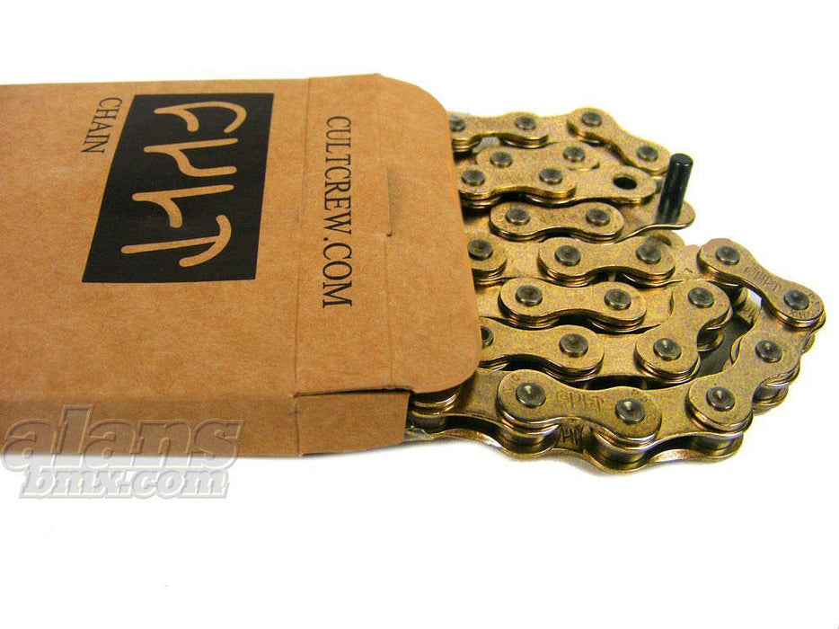 Cult BMX Parts Cult 510 Chain Gold