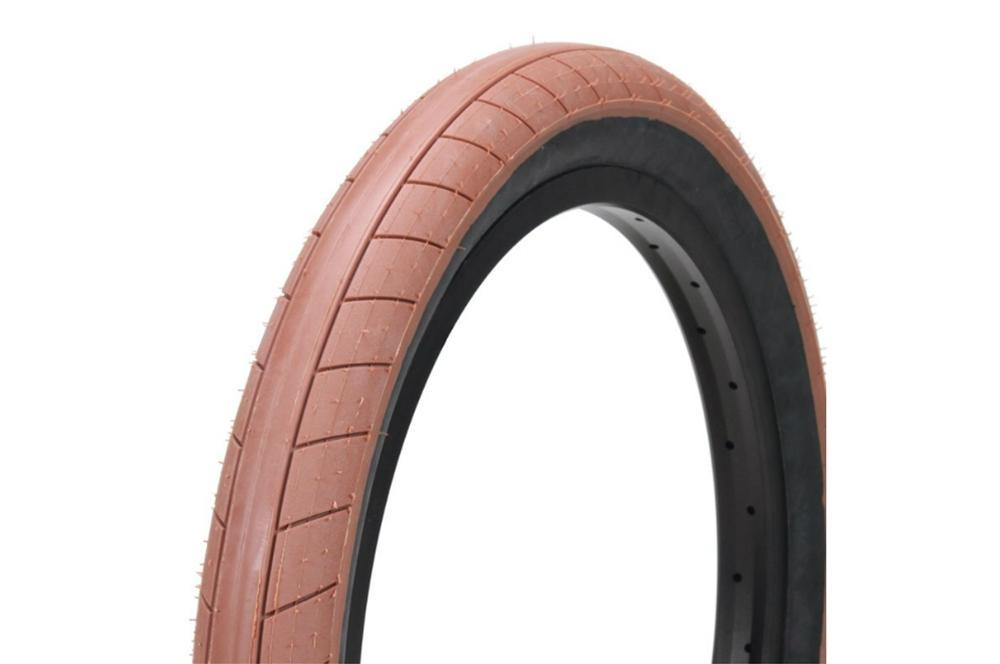 Cult BMX Parts Cult Dehart Slick Tyre 2.4 Dark Gum with Blackwall
