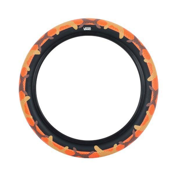 Cult BMX Parts 2.4 Cult x Vans 20 inch Tyre Orange Camo