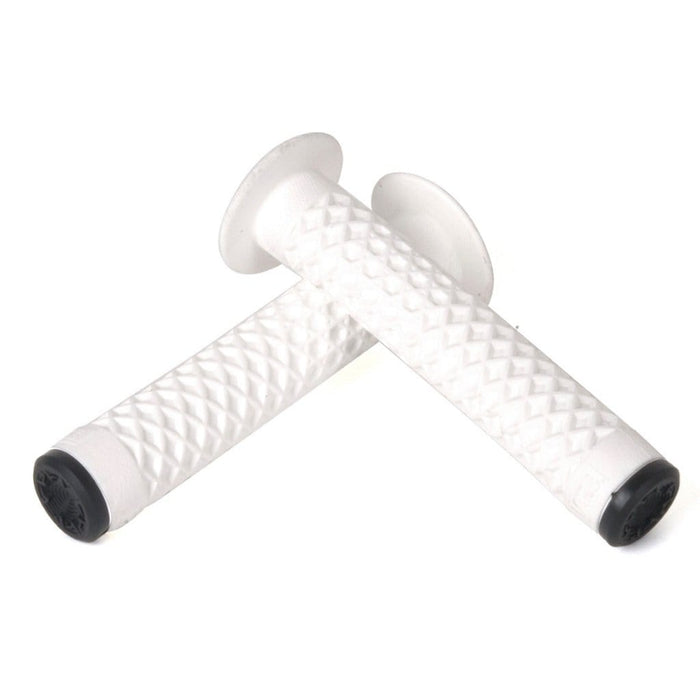 Cult BMX Parts White Cult x Vans Waffle Grips with Flange