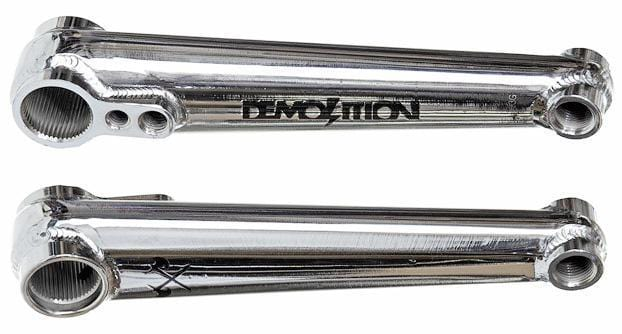 Demolition BMX Parts Demolition Rig Crank Chrome