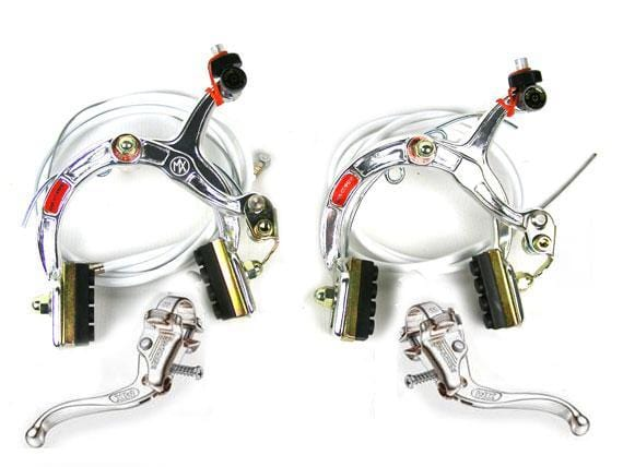 Dia-Compe Old School BMX Dia-Compe MX-1000/Tech-4 Complete Brake Set Silver